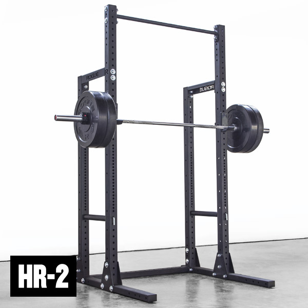 Rogue HR 2 Half Rack Weight Training Monster Lite Unit