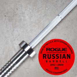 Rogue 28MM Men's Russian Bar w/ Collars