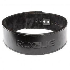"Rogue Black Leather 13mm - 4"" Lever Belt"
