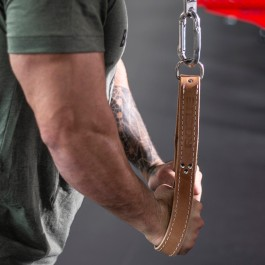 """Leather Tricep Straps - 25"""""""